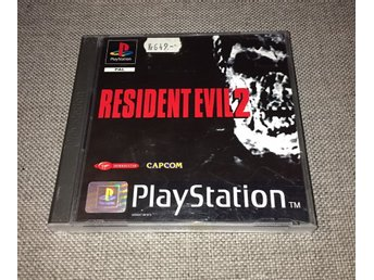 Resident Evil 2 playstation 1 ps1 RE2 PAL