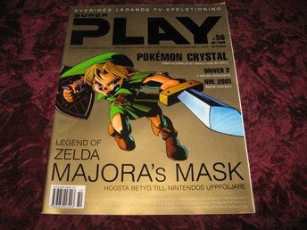 SUPER PLAY OKTOBER 2000 (LEGEND OF ZELDA MAJORA'S MASK)