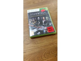 INJUSTICE GODS AMONG US XBOX 360 BEG