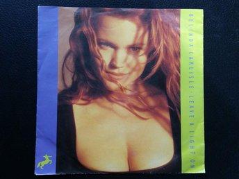 Belinda Carlisle Leave a light on / vinyl 80 tal / sexy cover - Sunne - Belinda Carlisle Leave a light on / vinyl 80 tal / sexy cover - Sunne