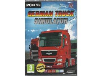 German Truck Simulator till PC. (Ny och inplastad) Nordisk version. - Byxelkrok - German Truck Simulator till PC. (Ny och inplastad) Nordisk version. - Byxelkrok