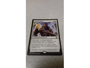 MAGIC THE GATHERING. OATH OF GIDEON.