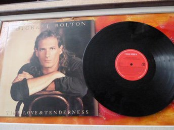 MICHAEL BOLTON, TIME, LOVE, & TENDERNESS, NEW LOVE, 1991, , LP