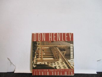 DON HENLEY - NEW YORK MINUTE - 3""
