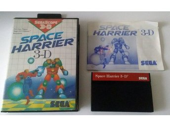 Sega Master Space Harrier 3-D Komplett