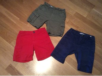Paket söta shorts från POLO RALPH LAUREN, YAMP, NAME IT i strl 110