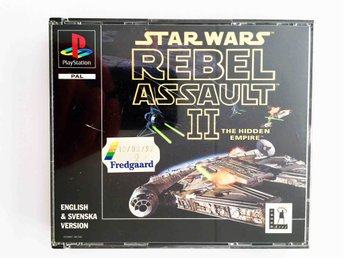 Star Wars: Rebel Assault II /2 * PS1 * 2-Disc * CIB * PAL (1997)
