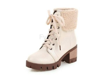 Dam Boots In Cold Winter Boots For Women Footwears Beige 37