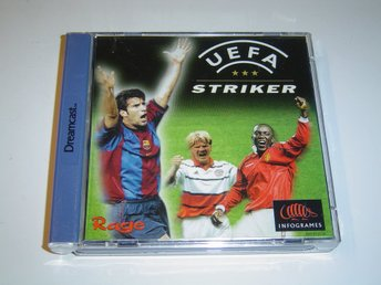 UEFA Striker Sega Dreamcast PAL *NYTT*