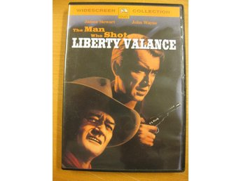 THE MAN WHO SHOT LIBERTY VALANCE - JOHN WAYNE, JAMES STEWART - DVD 1962