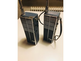 WALKIE TALKIES ! Rare Retro Vintage !