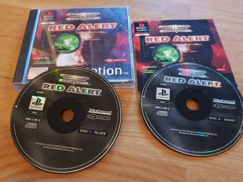 COMMAND & CONQUER RED ALERT PS1 BEG