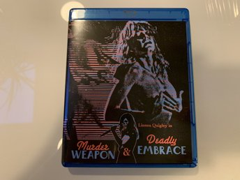 Murder Weapon & Deadly Embrace (Vinegar Syndrome, US Import, Regionsfri)