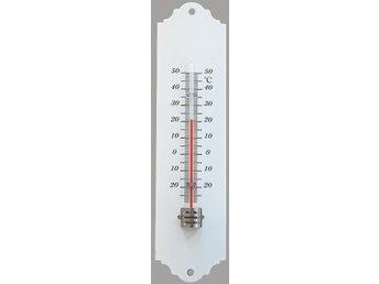 Liten vit termometer retro (359457953) ᐈ Köp på Tradera