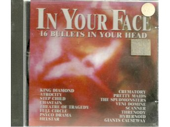 IN YOUR FACE - 16 BULLETS IN YOUR HEAD