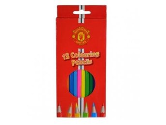 Manchester United färgpennor 12-pack