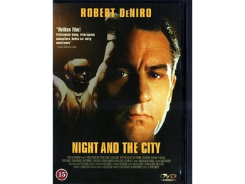 Night and the city - med Robert DeNiro - DVD - Lund - Night and the city - med Robert DeNiro - DVD - Lund