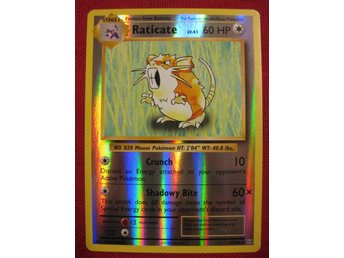 RATICATE - RARE REVERSE HOLO - POKEMON - EVOLUTIONS 67/108