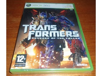 Transformers Revenge Of The Fallen Nytt & Inplastat - Xbox 360