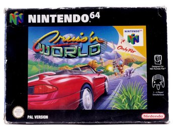 Cruis'n World - N64 - PAL (EU)