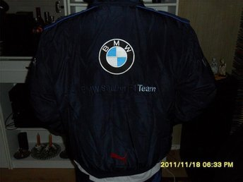 BMW racing/sport jacka  XL