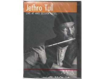 Jethro Tull – Live At AVO Session Basel (DVD) new sealed