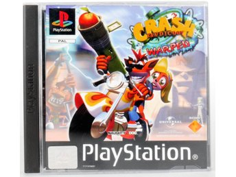 Crash Bandicoot 3: Warped - PS1 - PAL (EU)