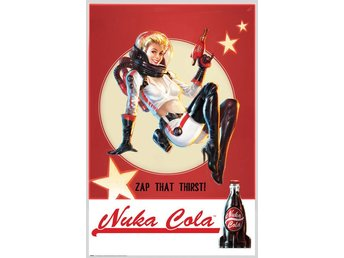 Poster (61x91 cm) - Spel - Fallout 4 Nuka Cola (FP4037)
