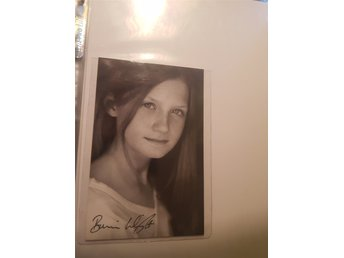 "Bonnie Wright ""Ginny"" - Harry Potter autograf"