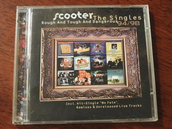 2CD Scooter The Singles 94/98 - Rough Tough and Dangerous CD