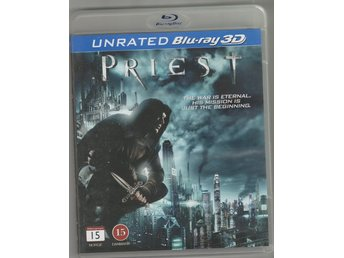 BLU - RAY - 3D - PRIEST - 4DISC