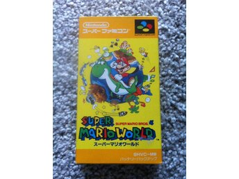 Super Mario World, för Super Famicom (Japanska Super Nintendo)
