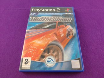 PS2 Need For Speed Underground Komplett Fint Skick