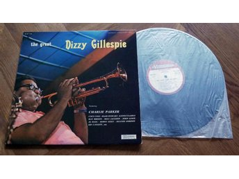 DIZZY GILLESPIE The Great Fransk+Charlie Parker Stitt Dexter