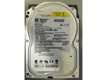 2004 - Hard Drive Western Digital 40 GB IDE