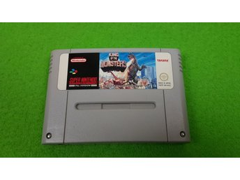 King of Monsters Super Nintendo Snes