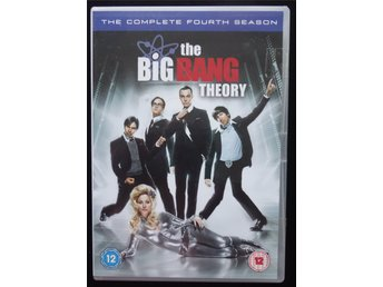 DVD – Box The Big Bang Theory, The Complete Fourth Season. Svensk text. 8 tim.