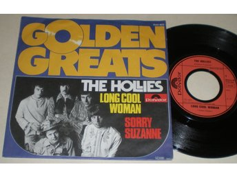 Hollies 45/PS Long cool woman 1977 M-