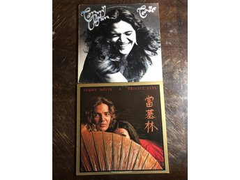 TOMMY BOLIN - Private Eyes & Teaser US Orig Pressar! Progg. DEEP PURPLE ZEPHYR