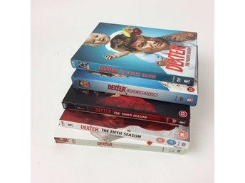 DVD Video, TV-serie, Dexter säsong 1-5