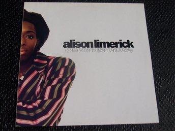 "ALISON LIMERICK - COME BACK 12"" 1991"
