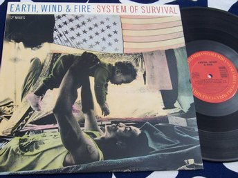 "EARTH WIND & FIRE - SYSTEM OF SURVIVAL 12"" 1987 TOPPSKICK!"