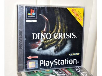 DINO CRISIS - ps1 - playstation - ny / Förseglad - sealed