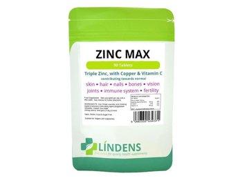 Trippel Styrka Zink Max 90 Tabletter med Vitamin C & Koppar - Chichester - Trippel Styrka Zink Max 90 Tabletter med Vitamin C & Koppar - Chichester
