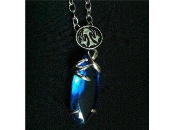 Final fantasy 7 VII aquamarine halsband necklace - Uppsala - Final fantasy 7 VII aquamarine halsband necklace - Uppsala