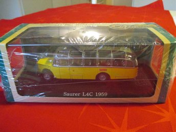 Leksaksbil -  Bus Collection - Saurer L4C 1959
