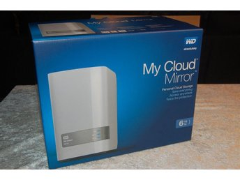 6 TB NAS - My Cloud Mirror - Western Digital - RAID