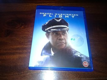 Flight (Blu-ray), av Robert Zemeckis med Denzel Washington