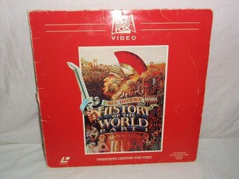 History of the World Part 1 - PAL LaserDisc, Mel Brooks - Södertälje - History of the World Part 1 - PAL LaserDisc, Mel Brooks - Södertälje