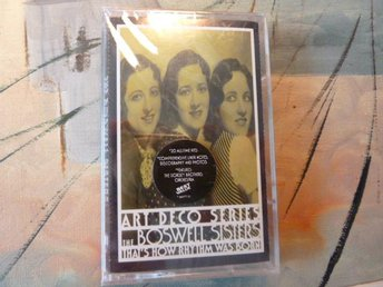 THE BOSWELL SISTERS, THAT´S HOW RYTHM WAS BORN, OÖPPNAD, KASSETT, KASSETTBAND